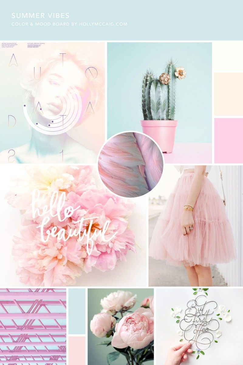 Colors And The Moods They Create how to create a mood board with illustrator | brand design, mood