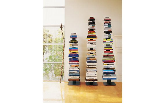 Boy Do I Have Books Why Not Go Vertical Sapien Bookcase