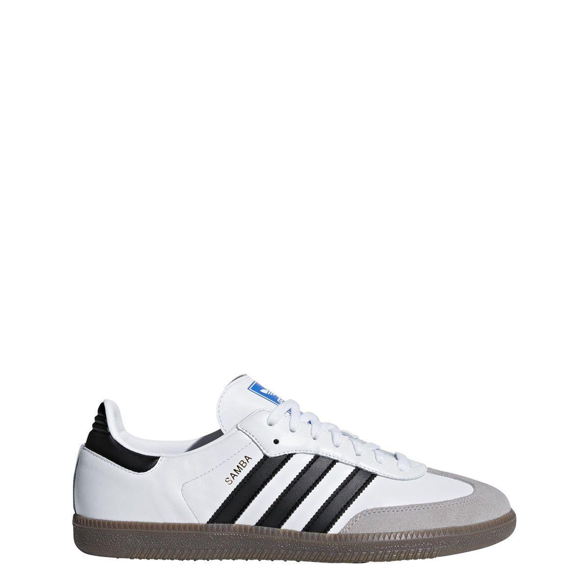 Adidas Samba OG Original Men's Indoor Leather White Soccer