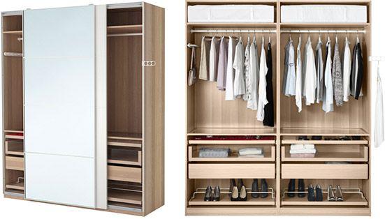 Schlafzimmermobel Ikea Kleiderschrank Neue Wohnung Aufbewahrungsmobel