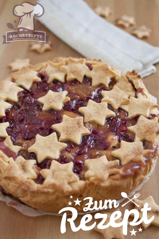 Apfel Kirsch Kuchen Lecker Kochen Und Backen Rezepte