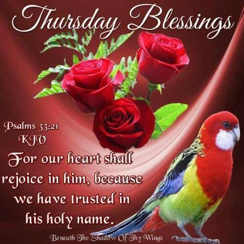 Thursday Blessings Thursday Pinterest Thursday Quotes