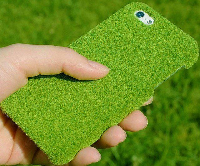 Faux Grass iPhone Case