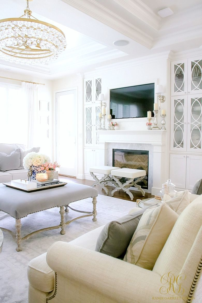 How To Create A Livable Beautiful Family Room White Family