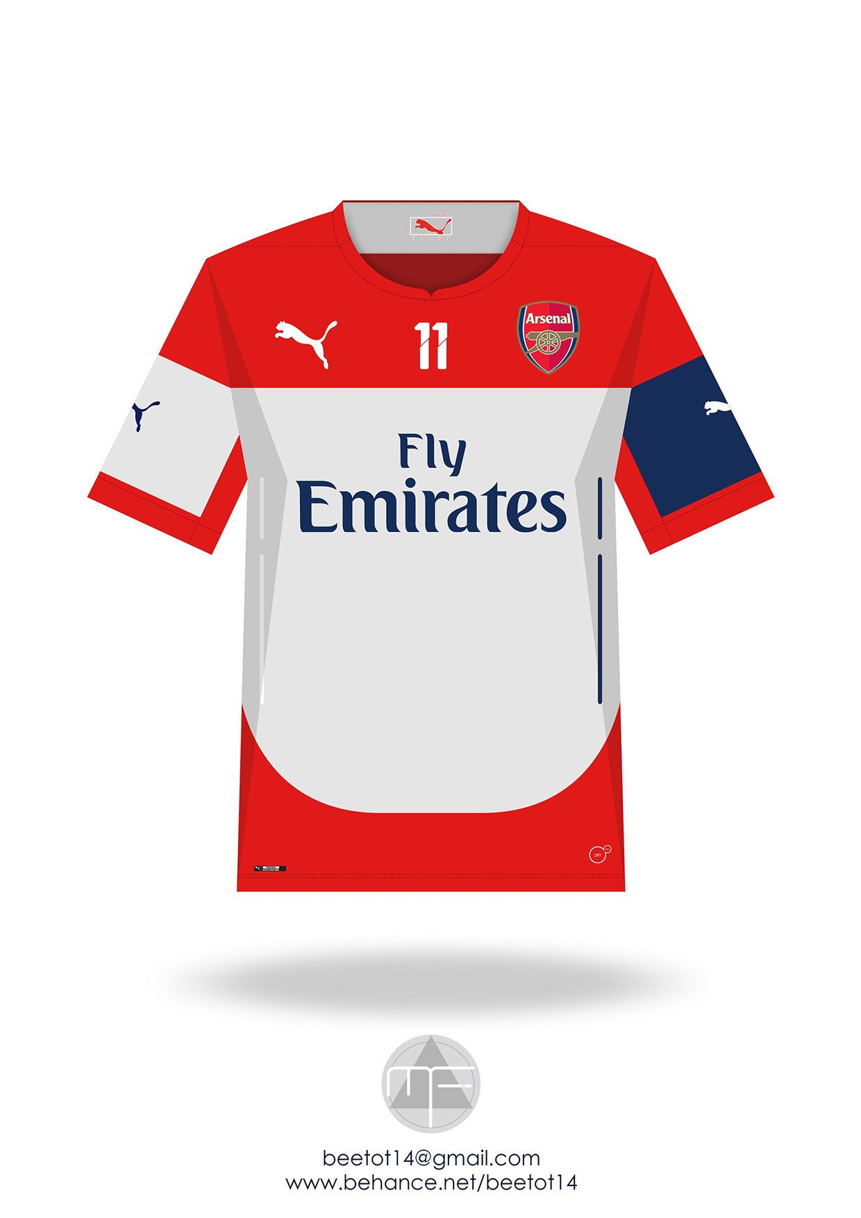 timeless design a8d14 ff13e Arsenal 2005-2015 Kit Collection on Behance | Arsenal ...