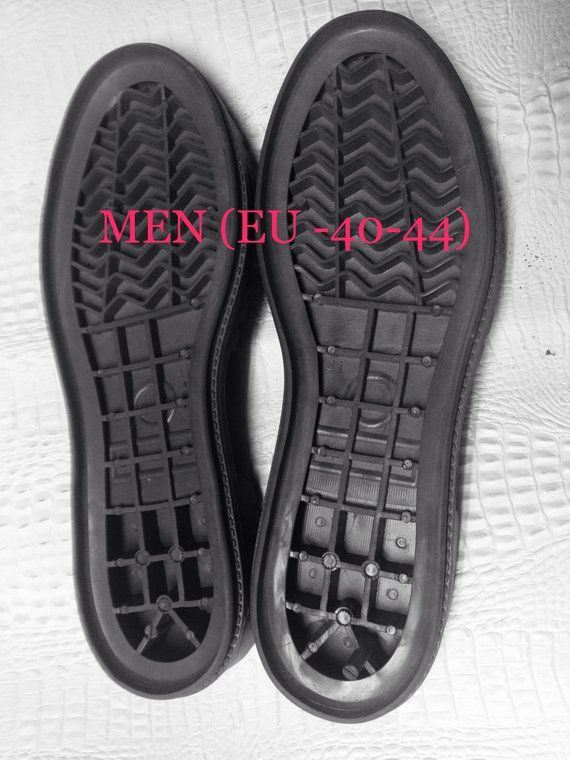 pretty nice 277fa 56f3b Men outdoor rubber, Men Shoe Making Supplies Rubber Soles, Shoe Soles for  Slippers Boots Rubber Sole