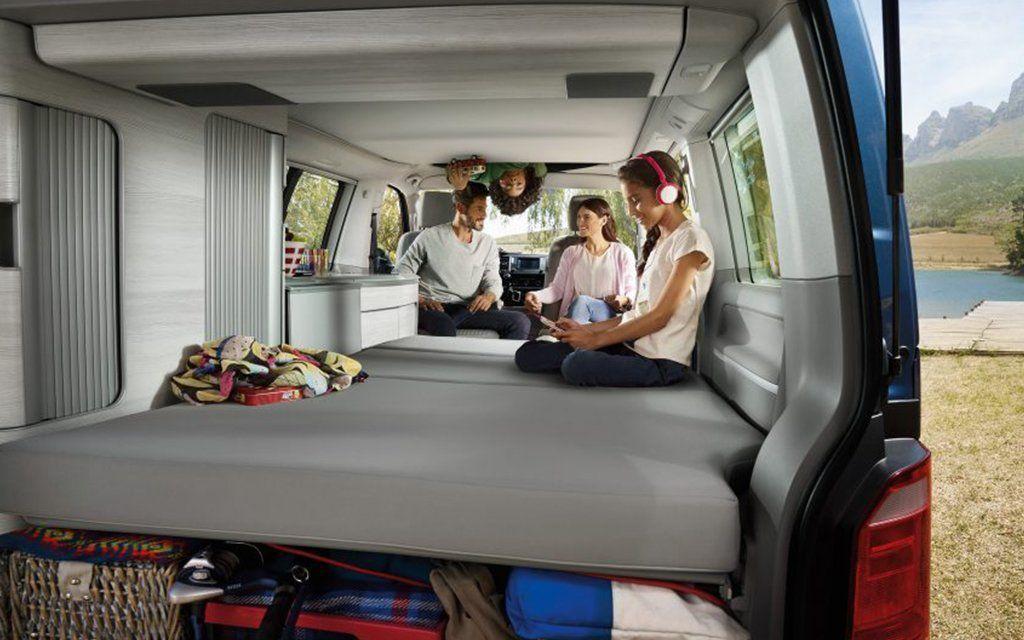 Volkswagen S New California Camper Van Is A Tech Rich Nostalgia Mobile In 2020 Vw California Camper Camper Van Conversion Diy Volkswagen