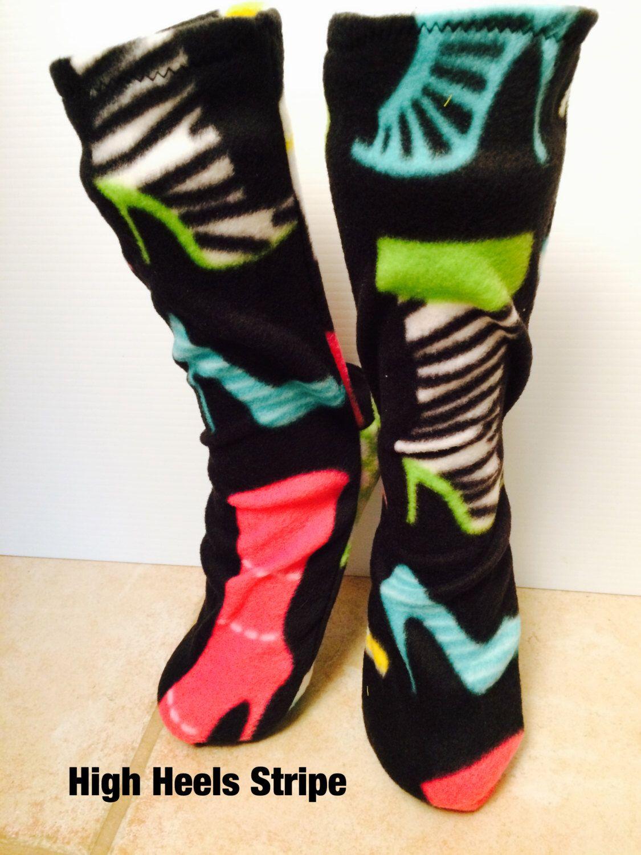 Free shipping Canada Fleece socks Mens socks Womens Etsy