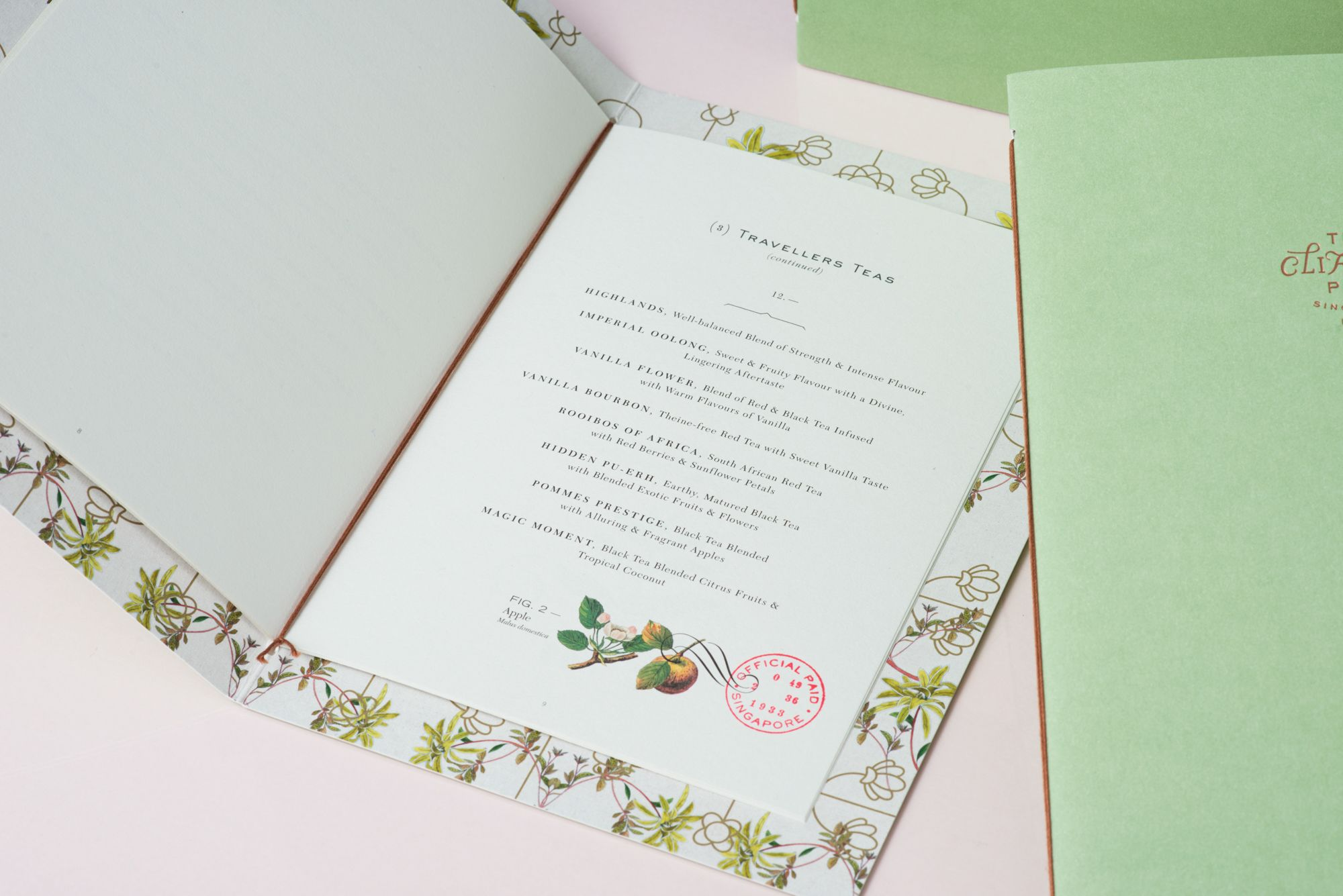 Sharing An Entity With Its Heritage The Clifford Pier Draws From Its Legacy As A Bustling Port In Singapore Du Wedding Stationery Booklet Design Ginger Flower