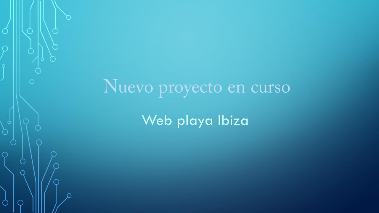 Mejores playas de Ibiza y sus restaurantes, además de promociona una app.