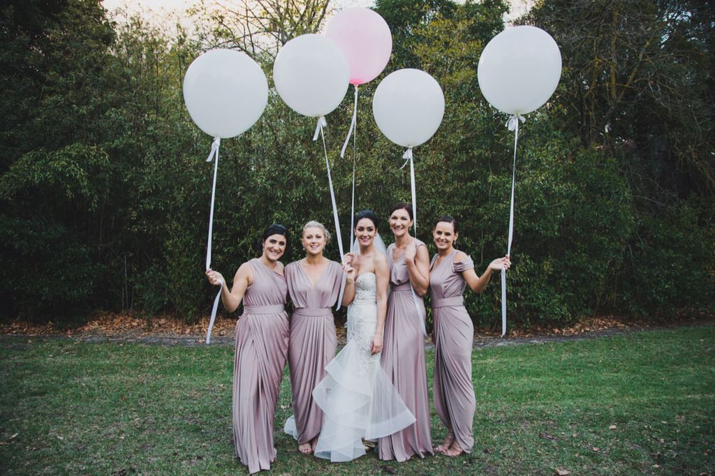 Gorgeous Jess and bridesmaids.  Long Way Home Photography. http://www.longwayhome.com.au/