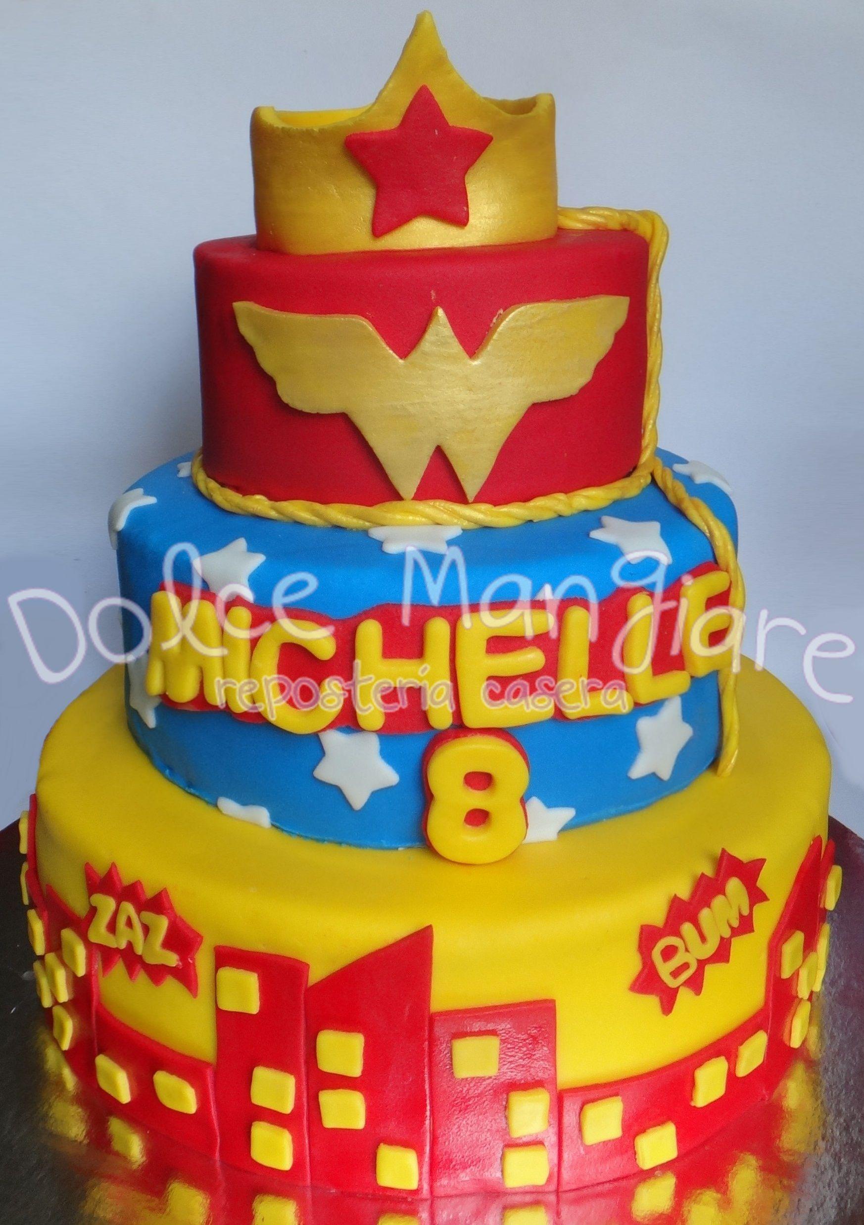Wonderwoman Cake Idea Idea Para Pastel De La Mujer Maravilla Https