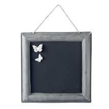Griffeltavla, zink 34,5x34,5cm