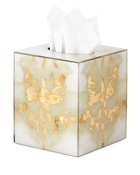 £180 Ink Blot Tissue Box Cover