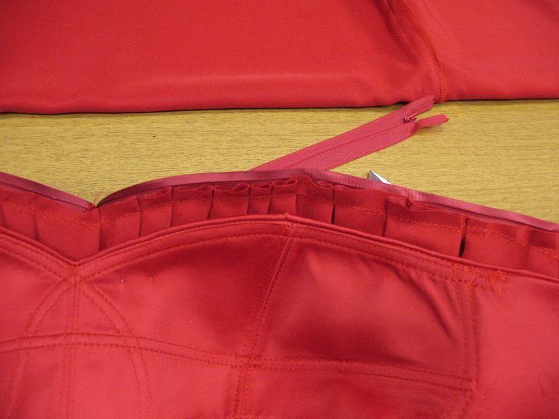 come fare drappeggio con punto sfilza-tutorial,corpino ...
