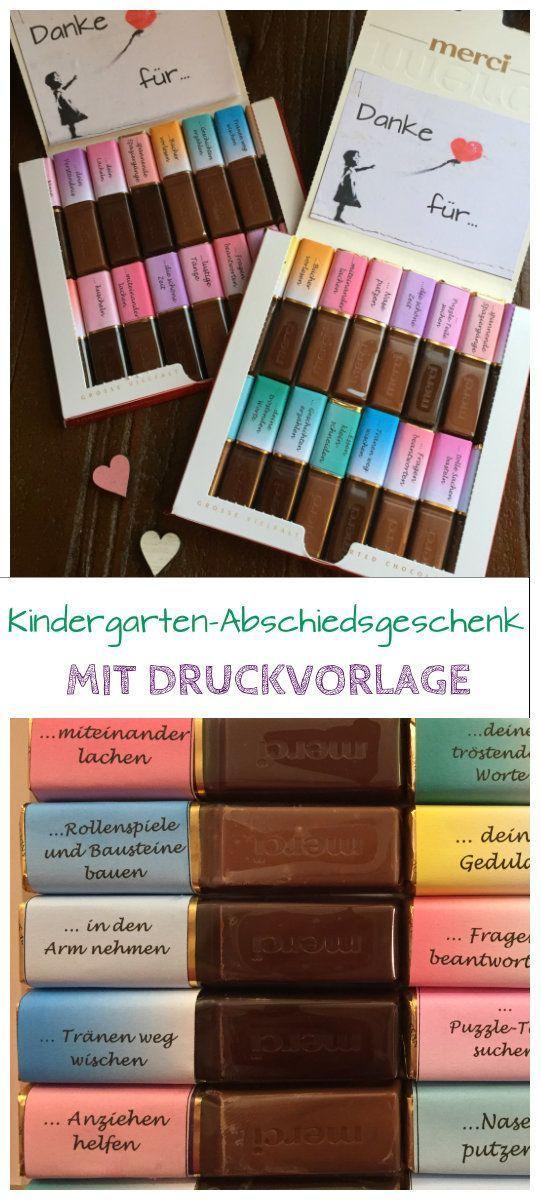 Mit Dieser Druckvorlage Für Merci Schokolade Könnt Ihr Ein