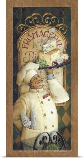 Chef III Art Pinterest Chef pictures, Kitchen art and Chef