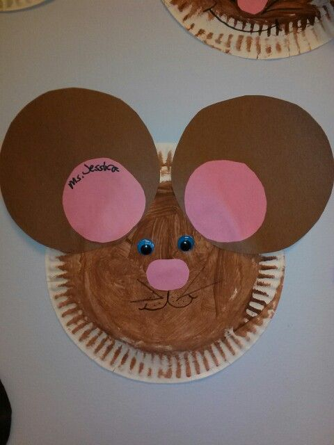 Paper Plate Mouse & Paper Plate Mouse | DayCare ArtWork Ideas | Pinterest | Book ...