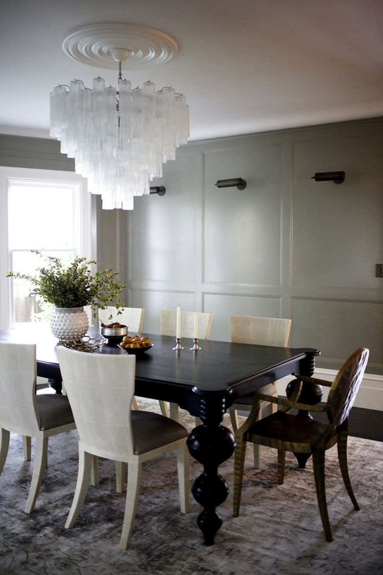 Edgy Mixed With Classic Dining Room Scene — Katie Hackworth Pleasing Classic Dining Rooms Inspiration Design