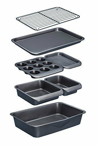 Masterclass Smart Space Stacking Non Stick Bakeware Set 7pc In
