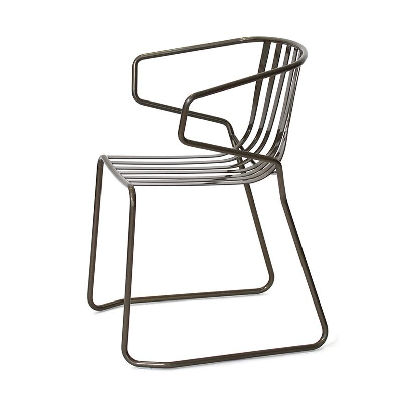 Modern Metal Outdoor Chairs Charming