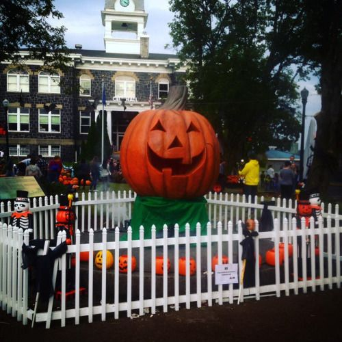 Travel to St. Helens, Oregon to see The Great Pumpkin from the ...