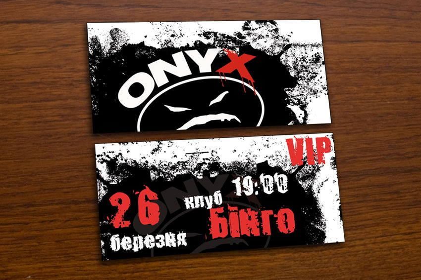 ONYX concert ticket graphic product design Pinterest - concert tickets design