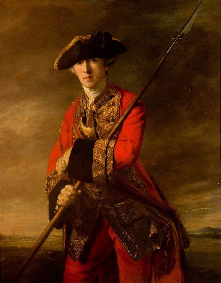 Colonel Alexander Campbell (1737–1785) by Francis Cotes Date painted: 1763