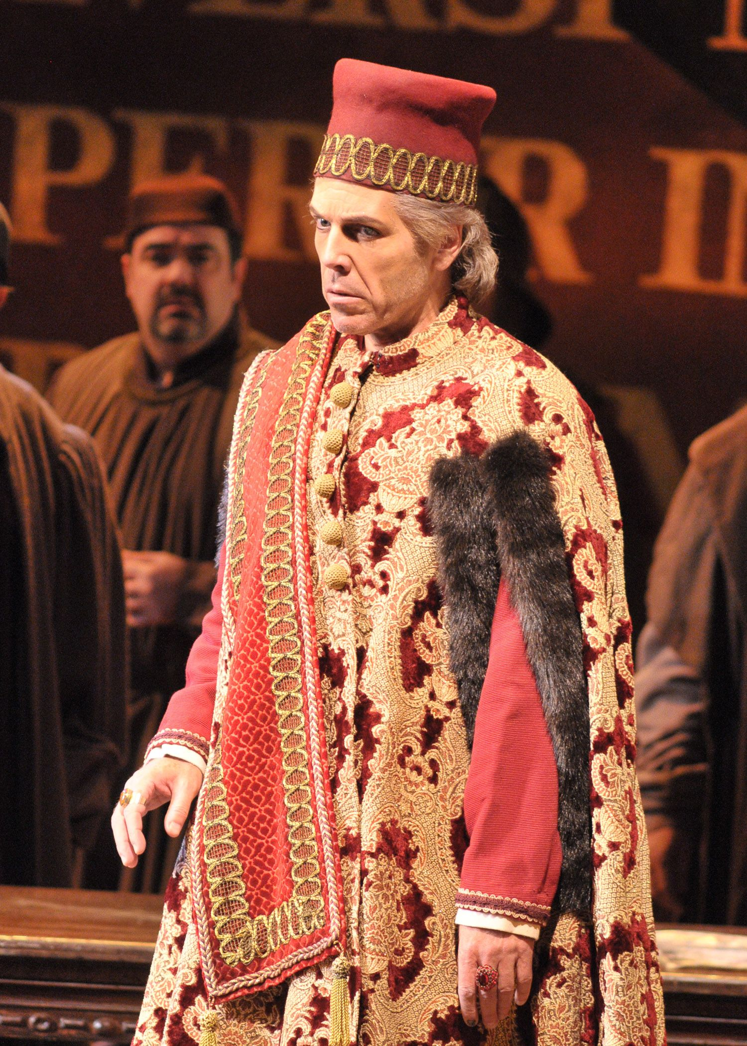 Giuseppe Verdi's #SimonBoccanegra at Lyric Opera of Chicago.  Photo by Dan Rest/Lyric Opera of Chicago. Thomas Hampson