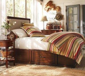 diy king bed!