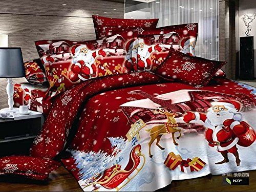 cutest christmas comforters and bedding sets - Christmas Bedding Sets