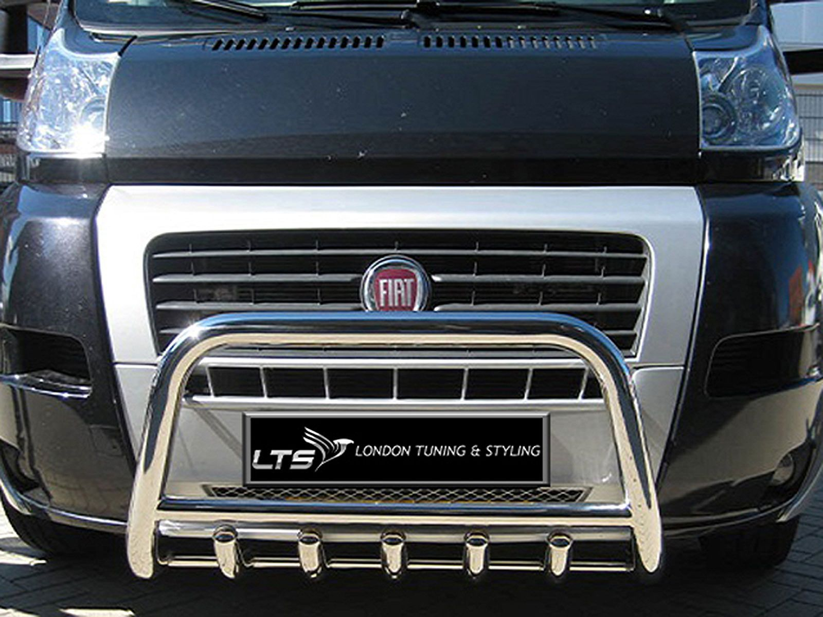Fiat Ducato Stainless Steel Chrome Nudge A Bar Bull Bar 2006 2013 Ebay Fiat Ducato Fiat Bull Bar