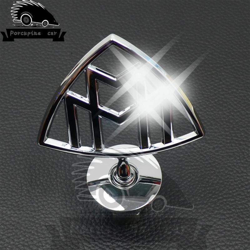 42.88$  Watch here - http://aliqtt.worldwells.pw/go.php?t=32787507468 - Super Quality V12 Solid Metal Zinc Alloy Reassembly Sticker Badge Emblem Badge 3D Logo Cover Holder for Maybach Car Styling
