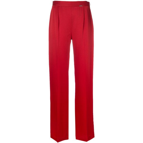 high-waisted trousers - Red Styland Discount Buy Zb1WfWp