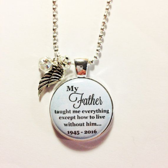 In Memory Dad Parent Daddy: MEMORIAL CHARM FATHER In Loving Memory By
