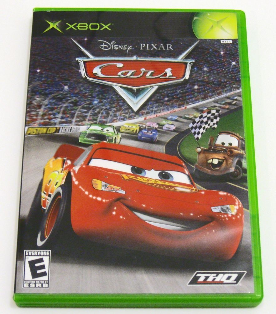 Cars -  Original Xbox video game Complete * THQ Disney Pixar