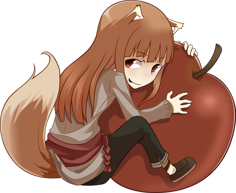 Apple Holo Spice And Wolf Spice And Wolf Holo Anime Wolf Girl Spice And Wolf
