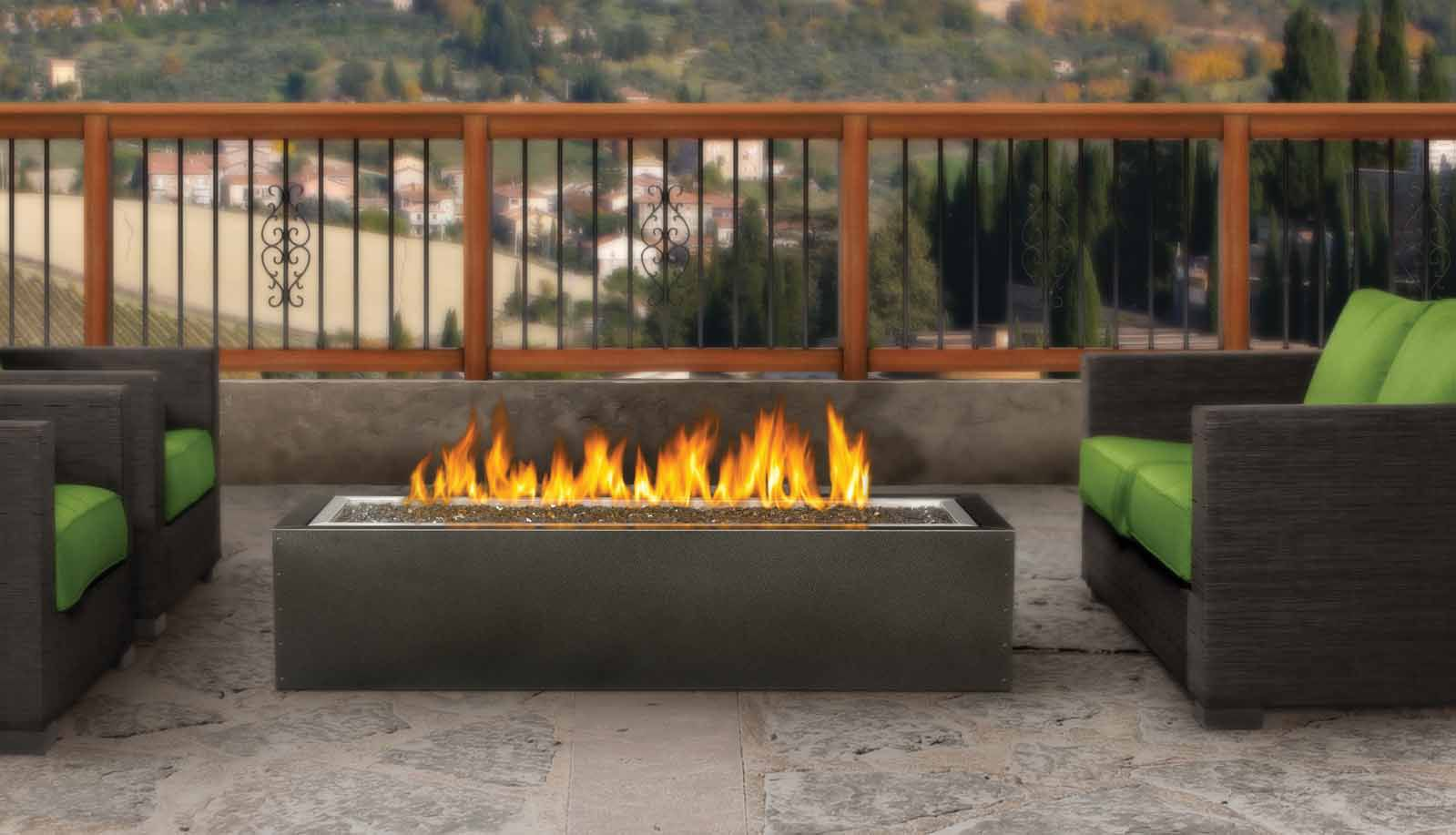 Image Of Patio Propane Outdoor Fireplace