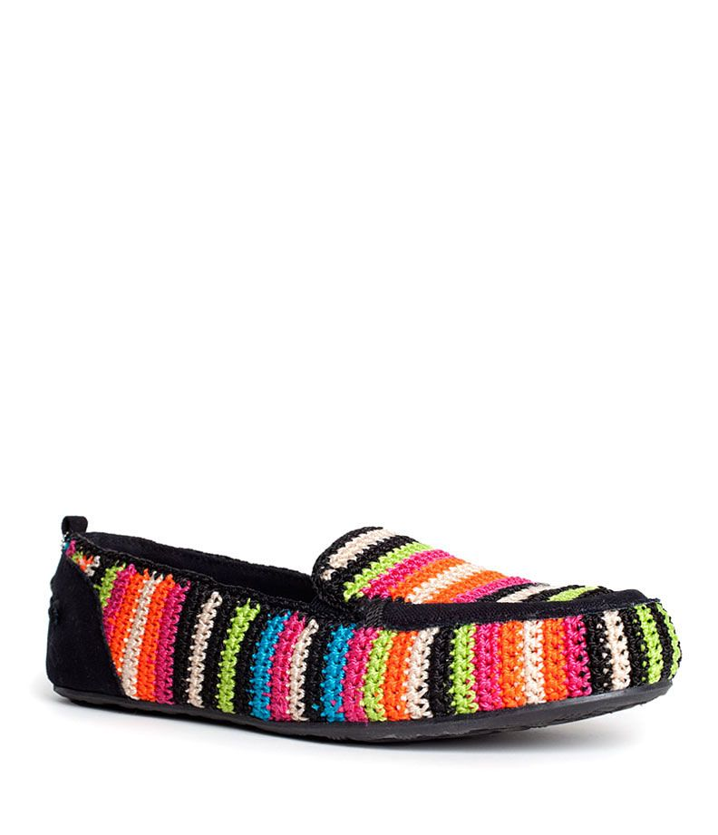 Lisa Driver in Global Stripe perfect for Spring   CROCHET ZAPATOS ...
