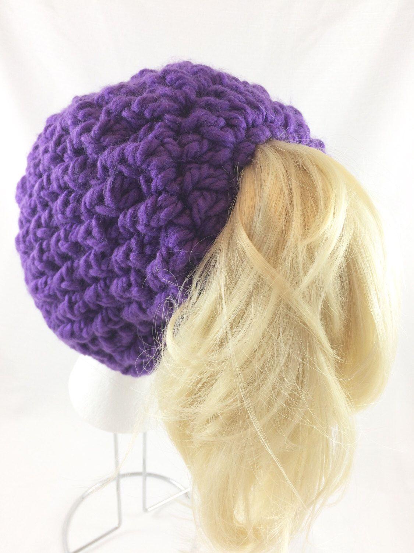 845ab03ed9037 Ponytail hat