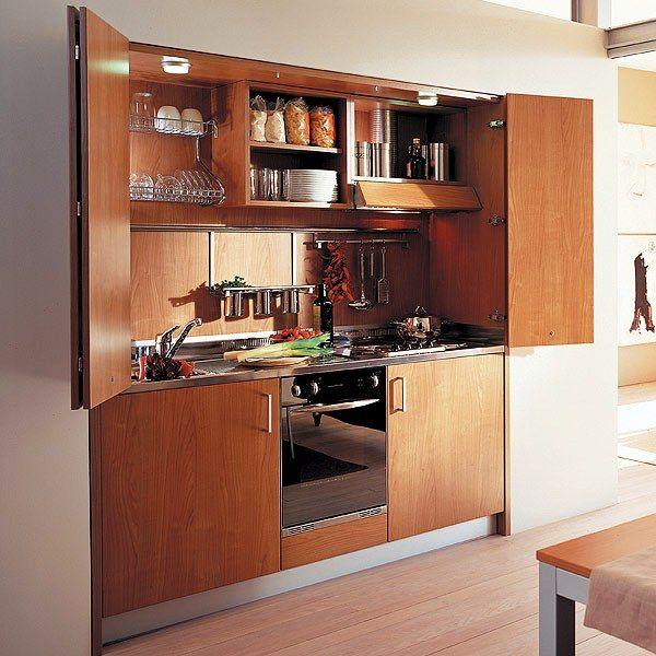 Hidden Kitchen General Pinterest Maison, Mini maison and Petit