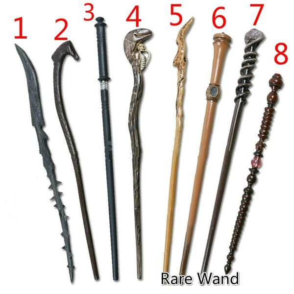 Harry Potter rare wands: Harry blackthorn,Horsehead, yaxley