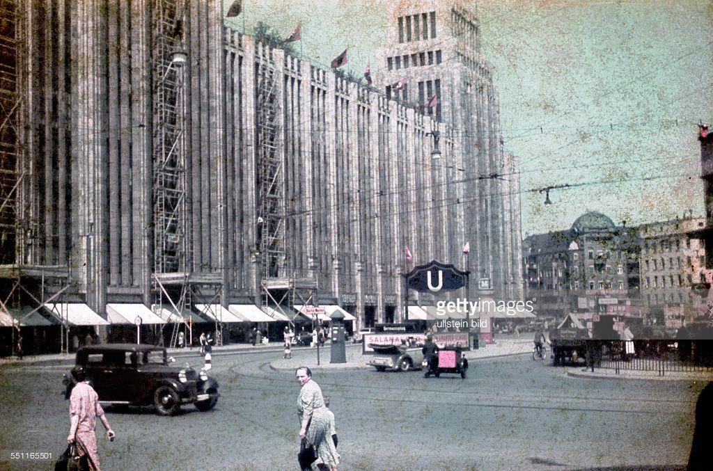 Berlin - Departmentstore Karstadt, Hermannplatz - 1937