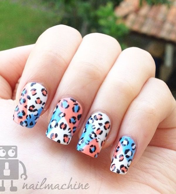 50 Leopard Nail Art Ideas Pinterest Leopard Nail Art Leopard