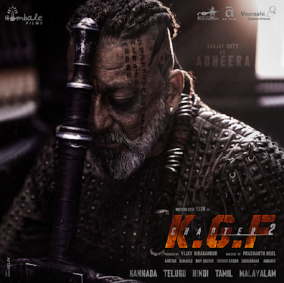 Kgf Chapter 2 Sanjay Dutt S First Look Revealed As Adheera Free Hd Movies Online Mass Movie Hd Movies Online