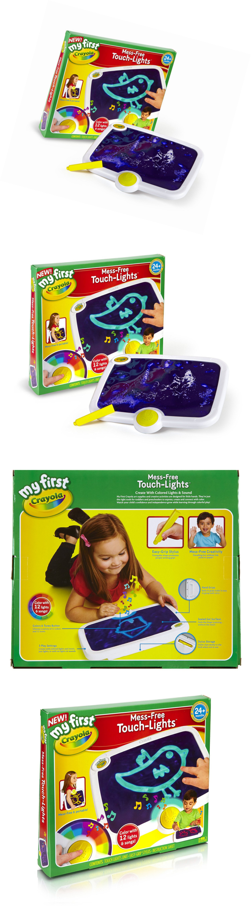 Crayons 116653: My First Crayola Mess-Free Touch Lights, Ages 2 To 4 ...