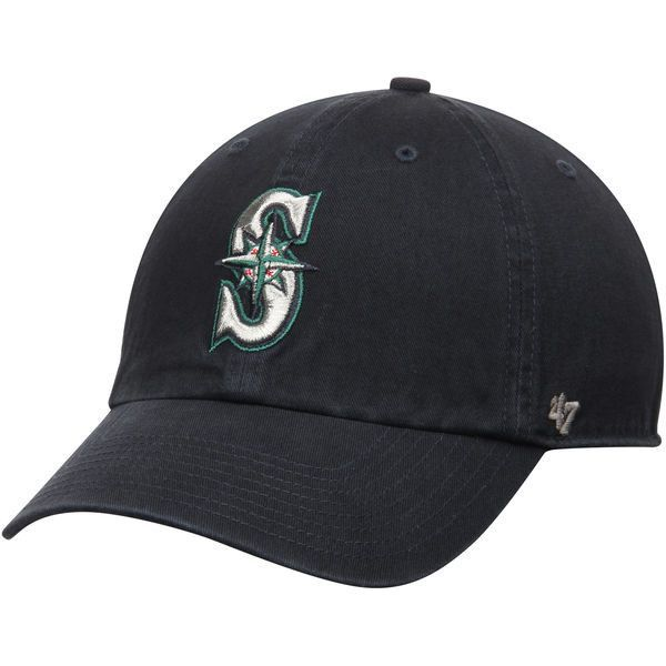 6195503be93b1 MLB  47 Seattle Mariners Clean Up Adjustable Hat