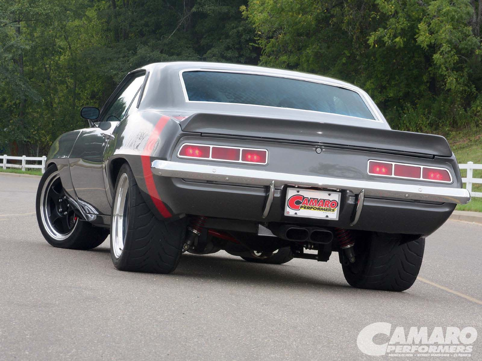 Jim Mulvey Bought A Completely Restored And Modernized 1969 Chevy Camaro SS  But It Had Too Much Of A Pro Street Attitude, So He Took The Whole Car  Apart ...