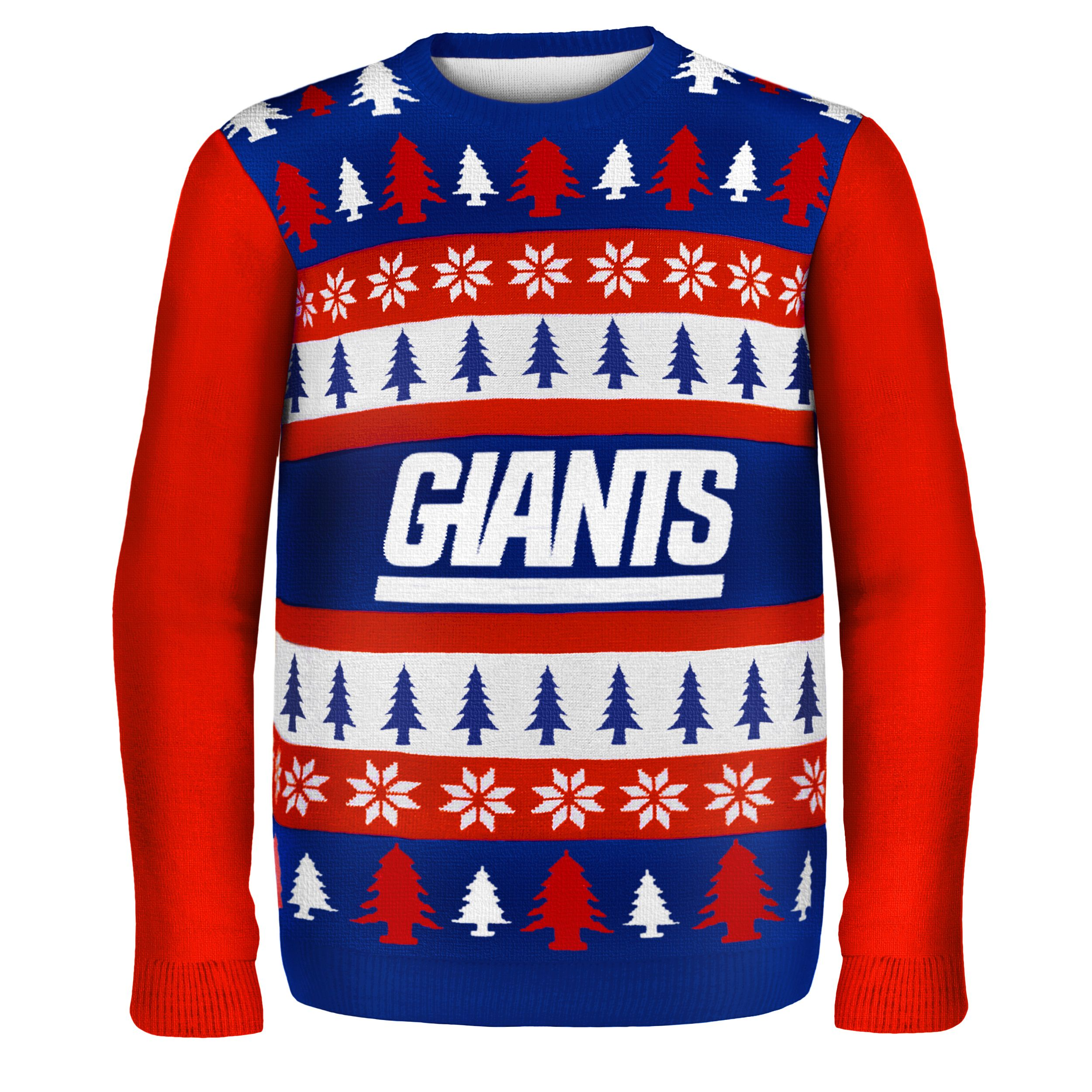 7d7ee1192c Forever Collectibles NFL New York Giants One Too Many Ugly Sweater ...