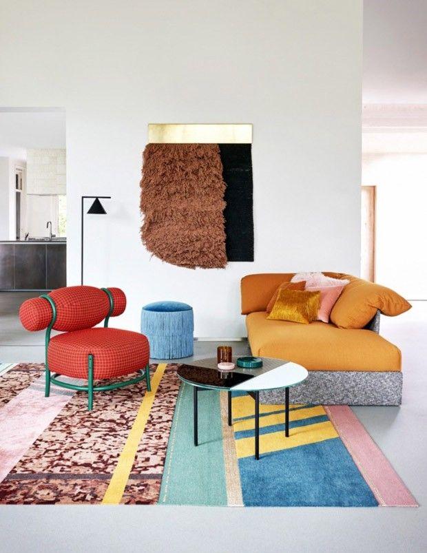 Photo of Décor do dia: sala colorida com formas surpreendentes